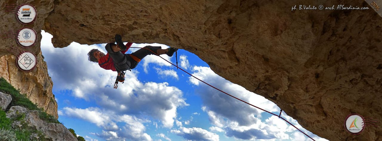 Cala Fighera - Face your demons 7a+ - giampaolo mocci