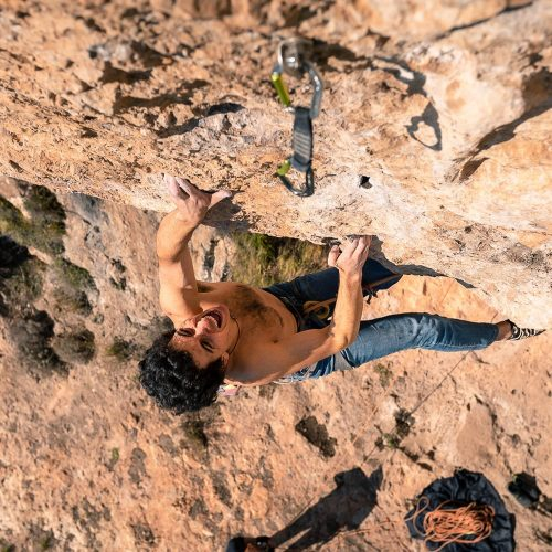 Monte Faito – Reny the ripper 7c